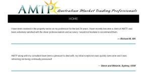 AMTP testimonials